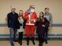 Święty Mikołaj u małych pacjentów